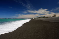 New Zealand beach Royalty Free Stock Image