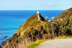 New Zealand, Catlins Coast, Nugget Point. Nugget Point, Catlins Coast. The most iconic landforms on the Otago coast. South Island, New Zealand Royalty Free Stock Photos