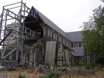 New Zealand Christchurch Cathedral royalty free stock photography