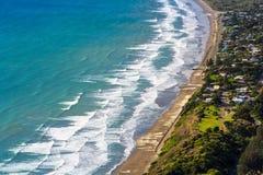 New Zealand coastline Stock Photos