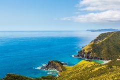 Free New Zealand Coastline Looking Towards Spirits Bay Royalty Free Stock Images - 127889629