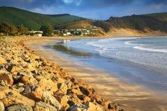 New Zealand coastline Royalty Free Stock Photos