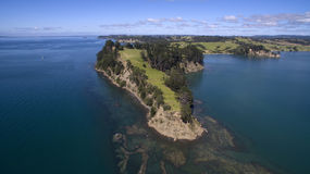 New Zealand coastline Stock Image