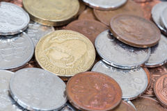 New Zealand Coins Stock Image