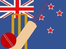 New Zealand cricket Stock Photo
