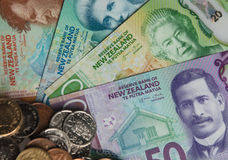 New Zealand Currency Stock Photos