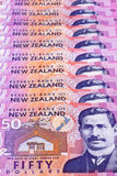 New Zealand Dollars Royalty Free Stock Photography