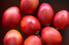 New Zealand evergreen tree fruit vegetable, Tamarillo Stock Photo