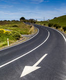 New Zealand expressway Royalty Free Stock Image