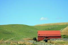 New Zealand Farm Building Royalty Free Stock Image