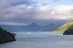 New Zealand ferry Royalty Free Stock Photography