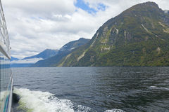 New Zealand fiordland Royalty Free Stock Image
