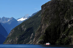 New Zealand Fiordland Royalty Free Stock Photos