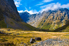 New Zealand Fiordland Stock Image