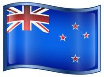 New Zealand Flag Icon Stock Photos