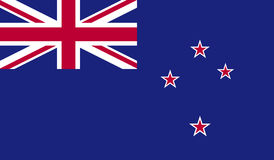 New Zealand flag image Royalty Free Stock Photography
