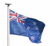 New Zealand flag Stock Images