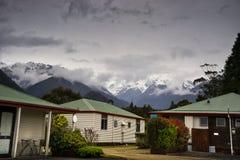 New Zealand Franz Josef Glacier Stock Photo