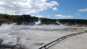 New Zealand Geothermal Spring. New Zealand Volcanic Geothermal hot spring. Photo taken during holidays at NZ Stock Image