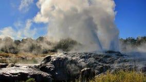 New Zealand 2015. Geysir at Rotorua Stock Photo