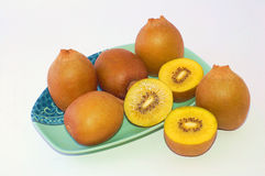 New Zealand Gold Kiwifruit Royalty Free Stock Images