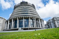 New Zealand Government buildings royalty free stock photo