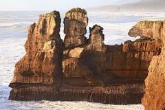 New zealand grand canyon Royalty Free Stock Photo