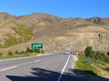 New Zealand Highway Stock Photo