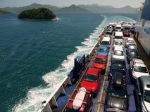 New Zealand: interislander car ferry h Royalty Free Stock Photo