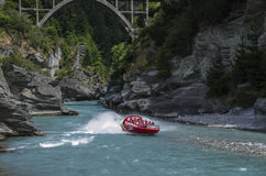New Zealand jetboating Royalty Free Stock Photography