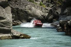 New Zealand jetboating Stock Photo