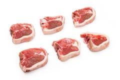 New Zealand lamb chops Royalty Free Stock Images
