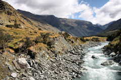 New Zealand landscape Stock Photo