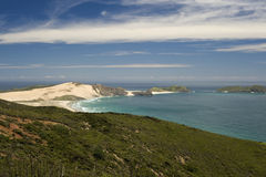 New Zealand Landscape. View of a New Zealand landscape - Cape Reinga, Northland, New Zealand Royalty Free Stock Photography