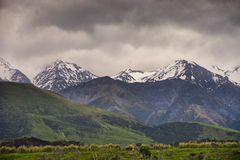 New Zealand landscape. New Zealand, landscape on the road to Kaikoura, the south island Stock Photo