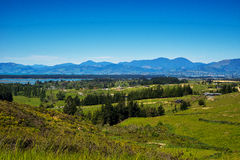 New Zealand Landscape. New Zealand, landscape on the road to Picton, the south island Royalty Free Stock Photos