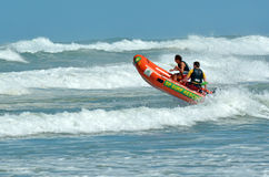 New Zealand Lifeguards Stock Images