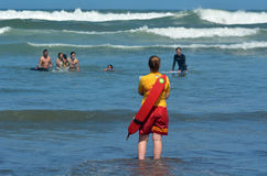 New Zealand Lifeguards Royalty Free Stock Photos