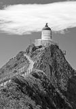 New Zealand, Lighthouse, Nugget Point Stock Images