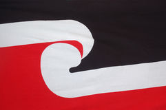 New Zealand Maori flag Royalty Free Stock Photography