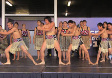 New Zealand Maori perform Haka War dance Royalty Free Stock Image