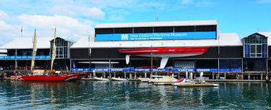 New Zealand Maritime Museum in Auckland Stock Image