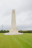 New Zealand memorial of Longueval Royalty Free Stock Photo