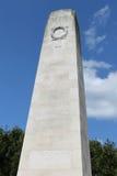 New Zealand Memorial Messines Stock Image
