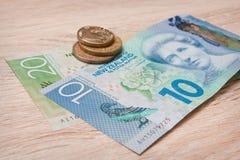 New Zealand Money Stock Image