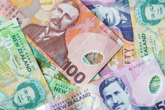 New Zealand Money Royalty Free Stock Photography
