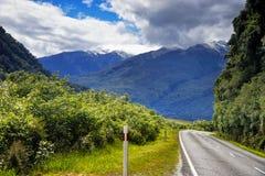 New Zealand, Mount Aspring National Park Royalty Free Stock Photo