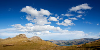 New Zealand mountain landscape Royalty Free Stock Photography