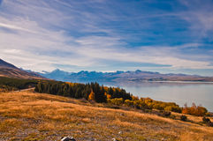 New Zealand. Mountain landscape Royalty Free Stock Photos