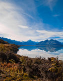 New Zealand. Mountain landscape Royalty Free Stock Photography